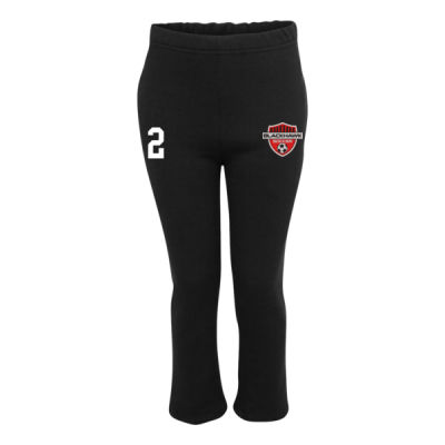 Youth Sizes - NuBlend® Open Bottom Pocketed Sweatpants - Embroidered Logo Thumbnail
