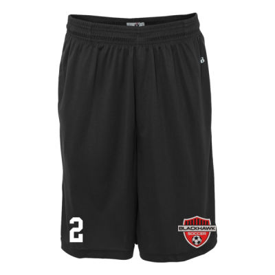 Youth Sizes - B-Core Pocketed Shorts - Embroidered Logo Thumbnail
