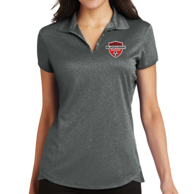 Ladies Trace Heather Polo - Embroidered Logo Thumbnail
